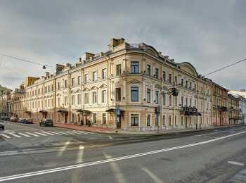 Набережная Кутузова рядом с домом
